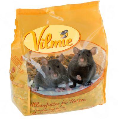 Set risparmio  Cibo per ratti Vilmie + Cosma Snackies