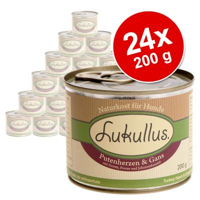 Set risparmio! Lukullus Adult 24 x 200 g