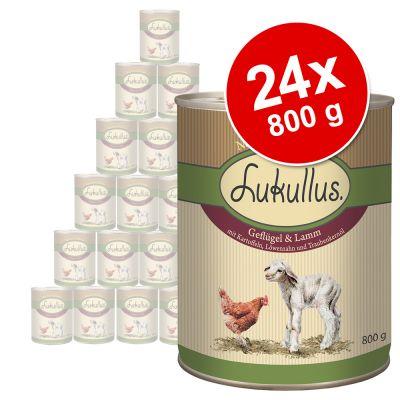 Set risparmio! Lukullus Adult 24 x 800 g