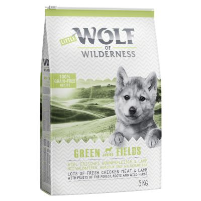 Set transition! Wolf of Wilderness Green Fields - Agnello - verso la vita adulta