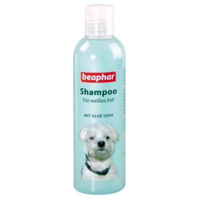 Shampooing Beaphar pour chien blanc ou de couleur claire