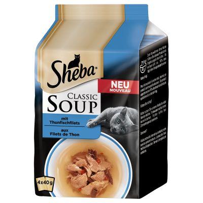 Sheba Classic Soup en bolsitas 8 x 40 g ¡con descuento! - Pack de prueba mixto