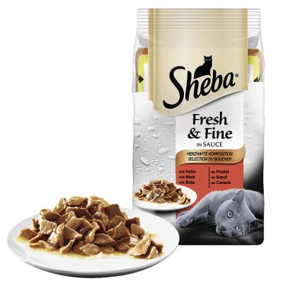 Sheba Canned Cat Food Review