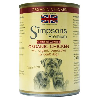 Simpsons Premium Certified Organic Pollo Casserole