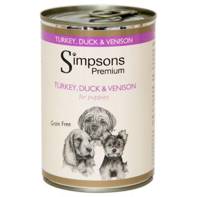 Simpsons Premium Puppy Tacchino, Anatra & Selvaggina