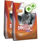 Smilla Dry Cat Food Economy Packs 2 x 4kg - Double Points!*