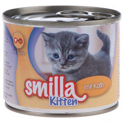 Smilla Kitten 6 x 200 g pour chaton