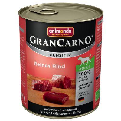 Sparpaket Animonda GranCarno Sensitive 12 x 800 g