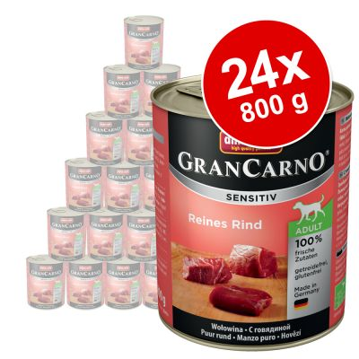 Sparpaket Animonda GranCarno Sensitive 24 x 800 g