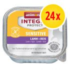 Sparpaket Animonda Integra Protect Adult Sensitive 24 x 100 g