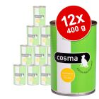 Sparpaket Cosma Original in Jelly 12 x 400 g
