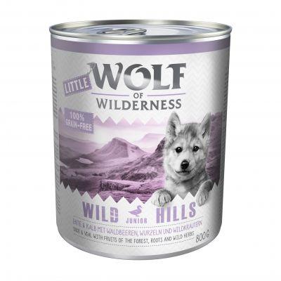 Sparpaket Little Wolf of Wilderness Junior 24 x 800 g