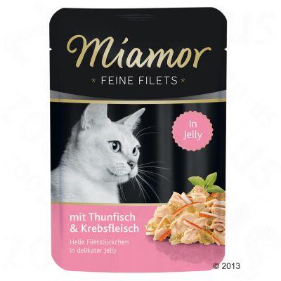 Sparpaket Miamor Feine Filets in Jelly 24 x 100 g