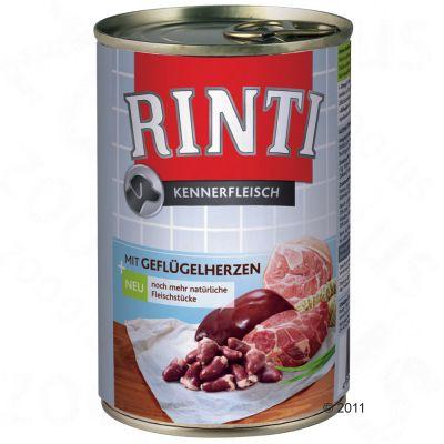 Sparpaket Rinti Kennerfleisch 12 x 400 g