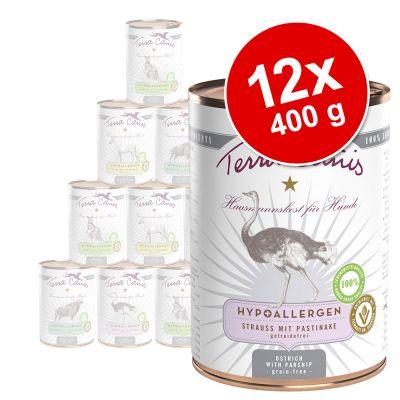 Sparpaket Terra Canis Hypoallergen 12 x 400 g