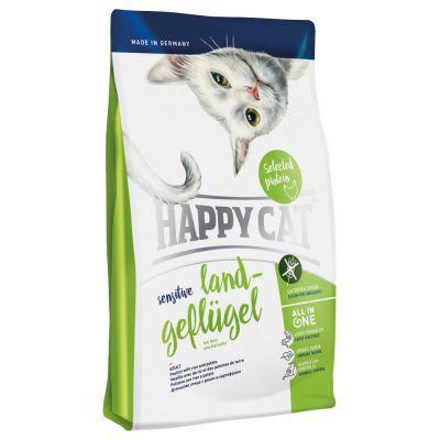 Sparpaket 2 x 1,4 kg Happy Cat Trockenfutter