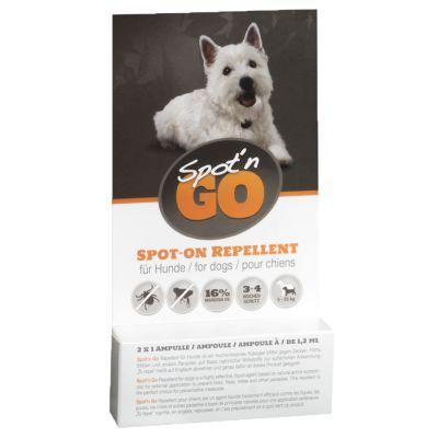 Spot'n Go Zeckenschutzmittel für Hunde