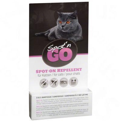 Spot'n Go Zeckenschutzmittel für Katzen