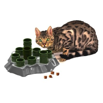 Wilderness Cat Food Coupons >> Stimulo Feeding Bowl & Intelligence Toy | Great deals on cat bowls at zooplus!