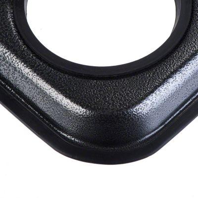 Supporto con doppia ciotola in acciaio inox