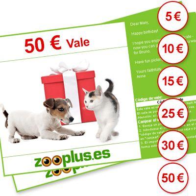 Tarjeta Regalo de zooplus