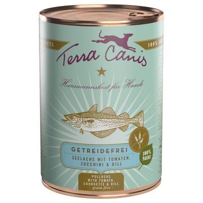 Terra Canis Getreidefrei Schlemmerpaket 12 x 400 g