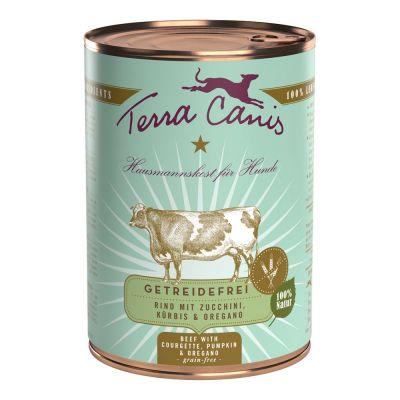 Terra Canis im gemischten Probierpaket 6 x 400 g