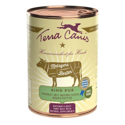 Terra Canis Metzgers Bestes 6 x 400 g