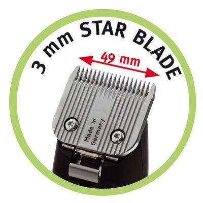 Testine di taglio per tosatrici Moser max45 e max50