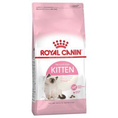 Testpaket: 2 kg Royal Canin Kitten 36 + je 400 g Concept for Life und Hill's
