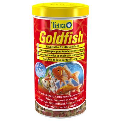 Tetra goldfish nourriture pour poisson zooplus for Goldfish nourriture