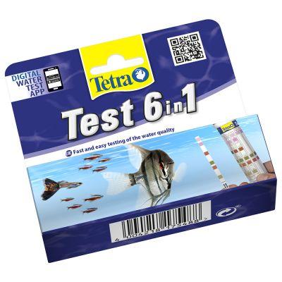 TetraTest 6 in 1 Teststrips Watertest