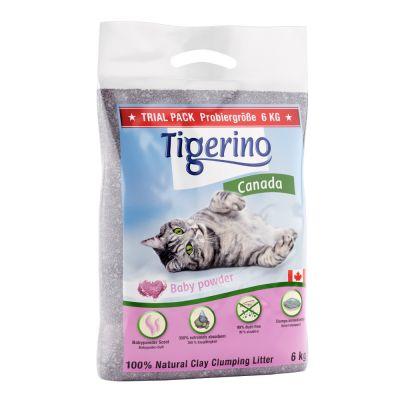 Tigerino Canada Katzenstreu - Babypuder-Duft