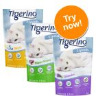 Tigerino Crystals Cat Litter Mixed Trial Pack 3 x 5 Litres