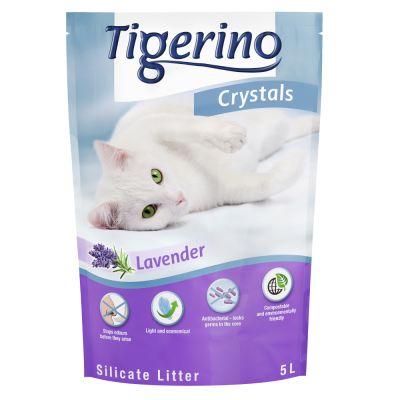 Tigerino Crystals Lavendel Katzenstreu