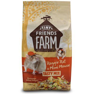 Tiny Friends Farm Reggie Rat & Mimi Mouse Tasty Mix