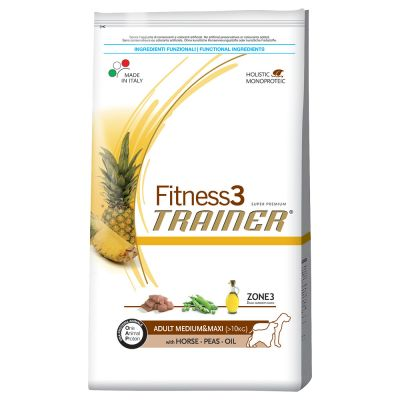 Trainer Fitness 3 Adult Medium/Maxi No Grain Cavallo & Piselli
