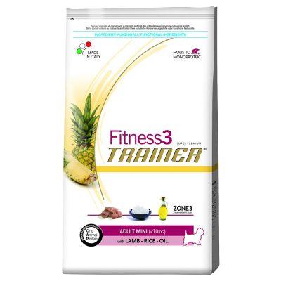 Trainer Fitness 3 Adult Mini No Gluten Agnello & Riso