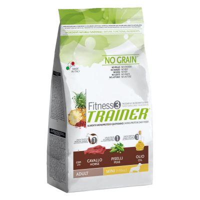 Trainer Fitness 3 Adult Mini No Grain Cavallo & Piselli