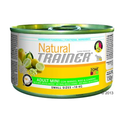 Trainer Natural Adult Small & Toy 6 x 150 g