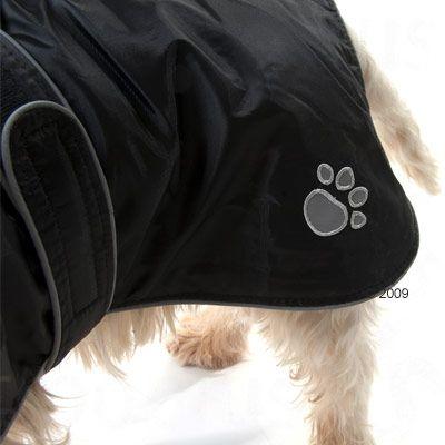 Trixie Dog Jacket Tcoat Orléans - Black
