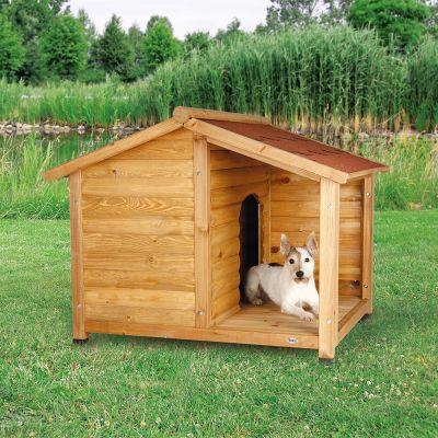 trixie natura hundeh tte lodge mit terrasse bei. Black Bedroom Furniture Sets. Home Design Ideas
