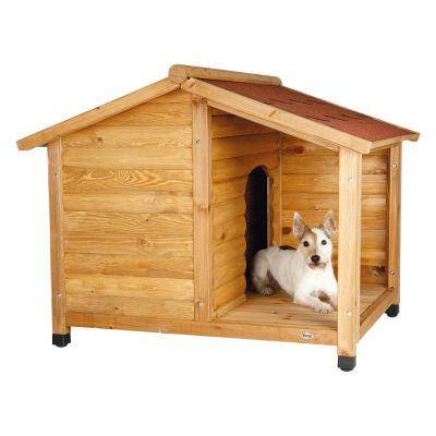 Trixie Natura Lodge kutyaház terasszal