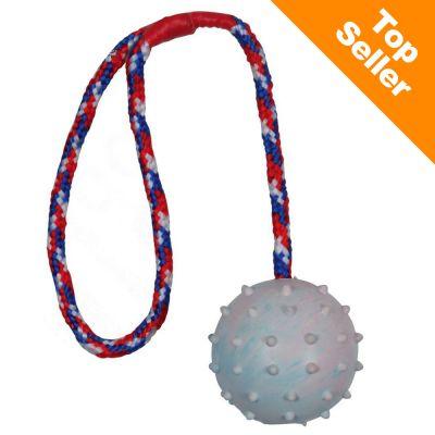 Trixie piłka gumowa na sznurku dla psa