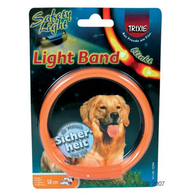 Trixie Reflective Collar Light Band