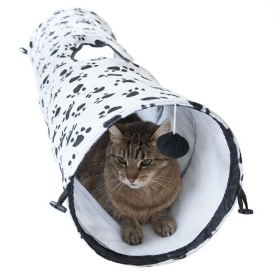 pawty tunnel de jeu pour chat zooplus. Black Bedroom Furniture Sets. Home Design Ideas