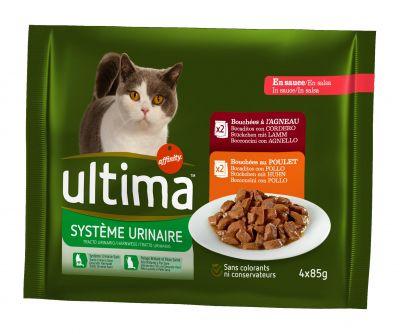 Ultima Tracto Urinario comida húmeda para gatos