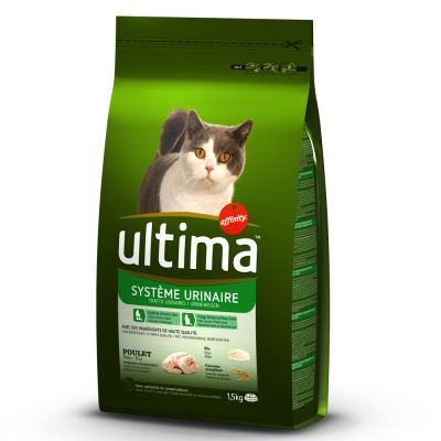 ultima urinary tract chicken rice cat food free p p on orders 29 at zooplus. Black Bedroom Furniture Sets. Home Design Ideas