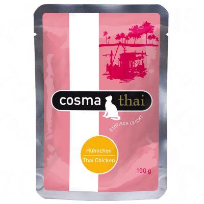 Varčno pakiranje: Cosma Thai vrečke 24 x 100 g