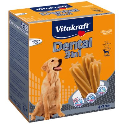Vitakraft Dental 3in1 Multipack - Tg. M